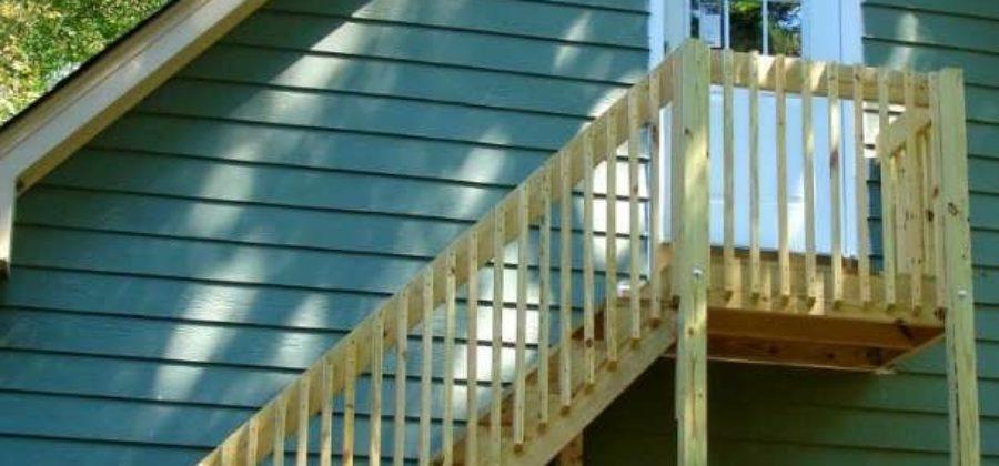 Как сделать деревянную лестницу на чердак